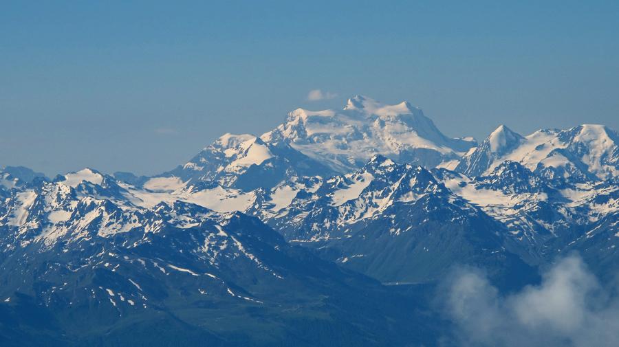 Seine Majestät, der Mont Blanc