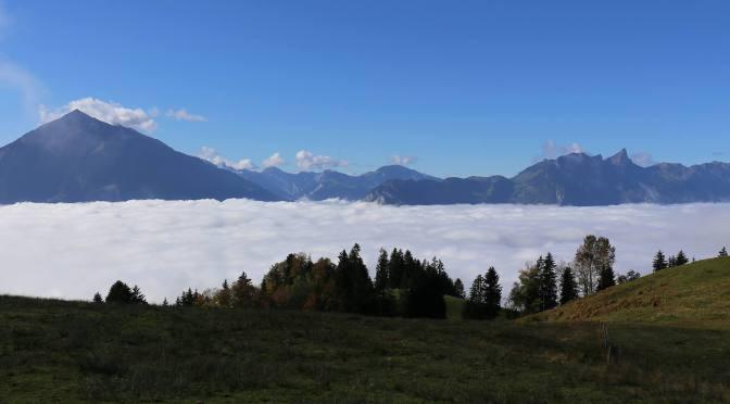 Zwei wunderbare Trainingsberge: Niesen und Stockhorn
