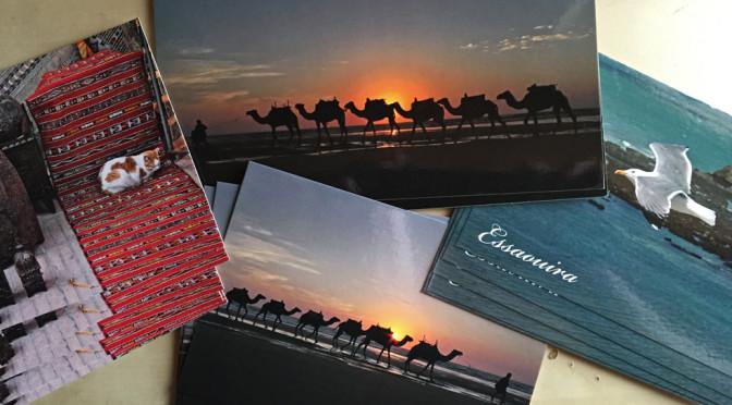 Marokko-Postkarten